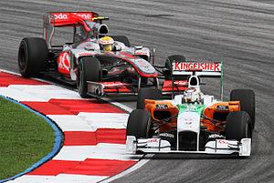 Formula One 2010 Rd.3 Malaysian GP: Adrian Sut...