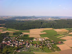 Dörflingen - Dörflingen from the air