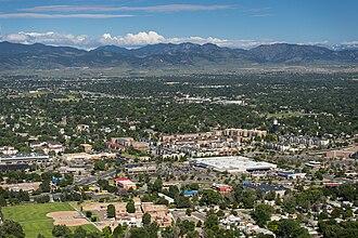 Arvada, Colorado - Aerial image of Arvada