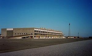 Nicosia International Airport - The now-derelict passenger terminal at Nicosia International Airport