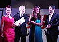 Aftab Shivdsani and Daina Hayden in Dubai Fashion Awards 2013.jpg