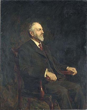Frederick Norman - Frederick Henry Norman, painting after Sir Hubert von Herkomer