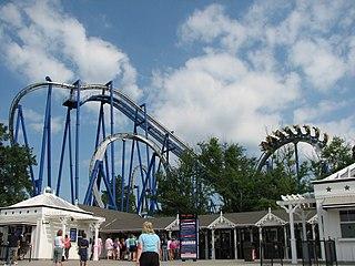 Afterburn (roller coaster) Inverted roller coaster at Carowinds