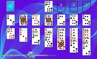 Agnes (card game) - Image: Agnes Bernauer Tesseract Mobile