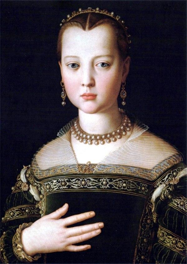 Agnolo Bronzino - Maria (di Cosimo I) de%27 Medici