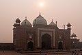 Agra-Taj Mahal-East Gate-20131019.jpg