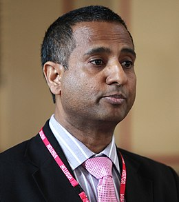 Ahmed Shaheed, Human Rights Council Special Rapporteur on Iran (cropped).jpg