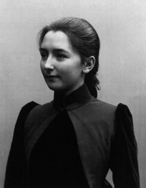 Aino Sibelius - Aino Sibelius (then Järnefelt) in 1888