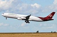 Air Madagascar, TF-EAB, Airbus A340-313 (30334969737).jpg