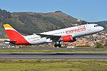 Airbus A320-214 'EC-MCB' Iberia Express (24504494674).jpg