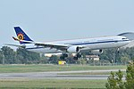 Airbus A330-300 Belgian Air Force (BAF) CS-TMT - MSN 096 (10498568063).jpg