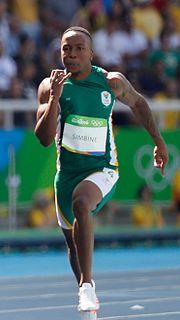 Akani Simbine South African sprinter