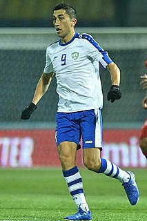 Odil Ahmedov Uzbekistani footballer