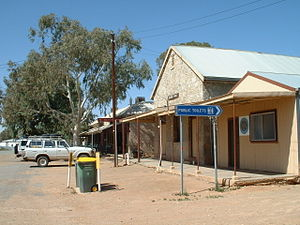 Tibooburra, New South Wales - The Albert Hall in Tibooburra, NSW
