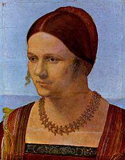 Porträt einer jungen Frau painting by Albrecht Dürer