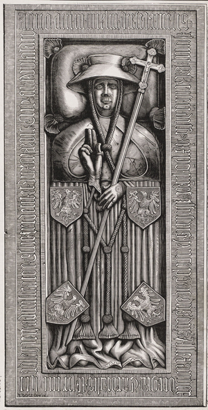 Alexander of Masovia - Alexander's tomb effigy in St. Stephen's Cathedral, Vienna.