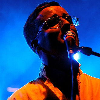 Alexis Taylor - Taylor performing with Hot Chip in 2008