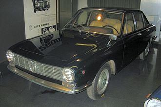 Alfa Romeo 2600 - 2600 Berlina de Luxe