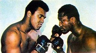 Muhammad Ali vs. Joe Frazier II Boxing competition