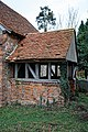 All Saints Church, Berners Roding, Essex porch from the west.jpg