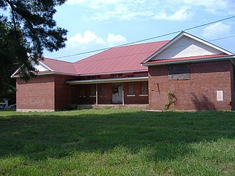 National Register of Historic Places listings in Hardeman County, Tennessee - Image: Allen White School, 100 Allen Extension St. Whiteville