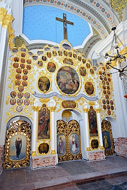 Almaška Church, iconostasis.jpg