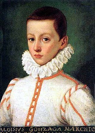 Aloysius Gonzaga - Aloysius de Gonzaga as a boy
