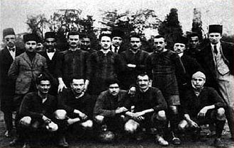 1917–18 Istanbul Football League - Istanbul Friday League - Altınordu İdman Yurdu 1916-17 and 1917-18 Champion