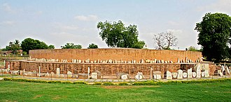 History of Andhra Pradesh - The surviving foundation of the stupa.