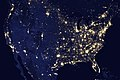Amazing image of the United States of America at night. Original from NASA. Digitally enhanced by rawpixel. - 42898397911.jpg