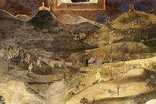 nuncalosabre.Alegoría del Buen y del Mal Gobierno - Pietro y Ambrogio Lorenzetti