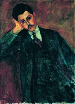Amedeo Modigliani - Jean Alexandre - 1909 - 001