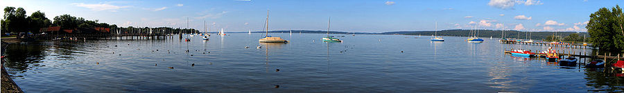 Ammersee-Panorama