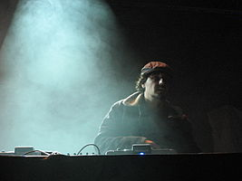 Tobin performing live in Luxembourg City in 2007