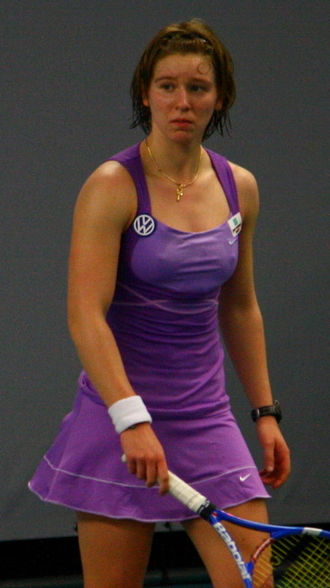 An-Sophie Mestach - Mestach at the 2010 Telenet Open in Torhout