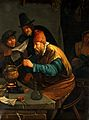 An alchemist. Oil painting after Jan Havicksz. Steen, with a Wellcome V0017656.jpg