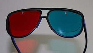 Anachrome Aviator+ 3D glasses