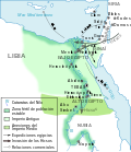 Ancient Egypt old and middle kingdom-es.svg