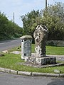 Ancient cross at Crows-An-Wra - geograph.org.uk - 801125.jpg