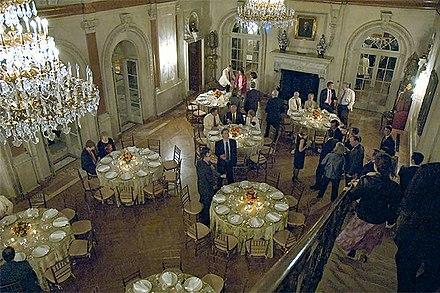 The General Society in Washington, D.C. makes Anderson House and its ballroom available for private events.