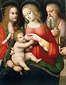 "Andrea Piccinelli known as ""il Brescianino"" - Madonna with Child and Saints John the Baptist and Girolamo - Google Art Project.jpg"