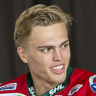 2013 NHL Entry Draft - Andreas Johnsson, chosen 202nd overall by the Toronto Maple Leafs.