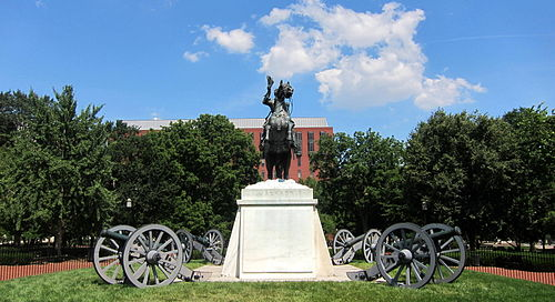 Andrew Jackson sculpture - west face.JPG