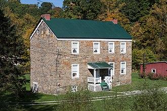 German Township, Fayette County, Pennsylvania - Andrew Rabb House, built 1773