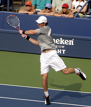Andy Murray - Murray at the 2008 US Open