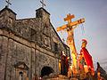 Ang Simbahan ng Bantayan on Holy Week.jpg