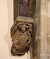 Angel corbel 2, St Oswald's Church, Bidston.jpg