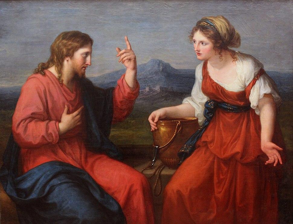 Angelika Kauffmann - Christus und die Samariterin am Brunnen -1796.jpeg