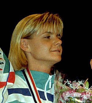 Anja Fichtel - Anja Fichtel in 1995