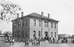 Socorro, New Mexico - Public school in Socorro (1898)
